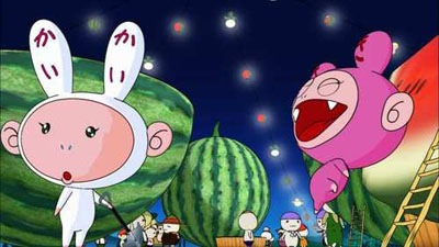 Stills from Kaikai Kiki Animation Episode 1, Planting the Seeds. ©2007 Takashi Murakami/Kaikai Kiki Co., Ltd. All Rights Reserved.